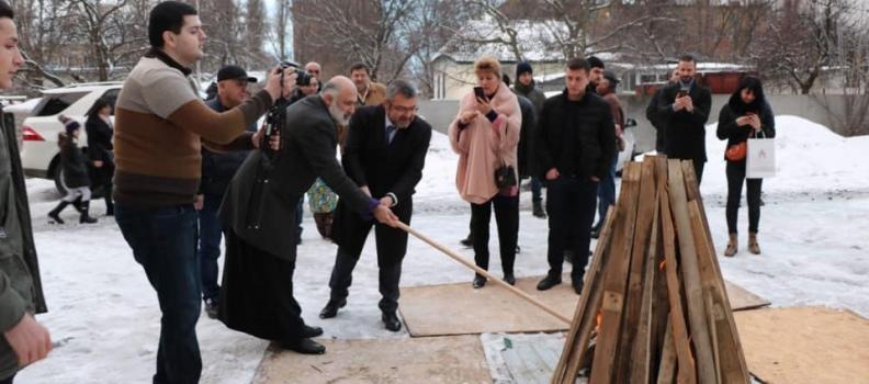 В Киеве отметили праздник Трндез (Тъярнэндарач)