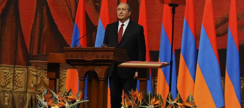 """""""Диалог в любом формате"""": Президент Армении обратился к участникам протестов"""