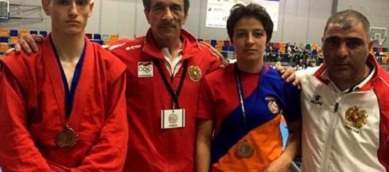 Армянский самбист Грикор Саакян завоевал золото на чемпионате Европы