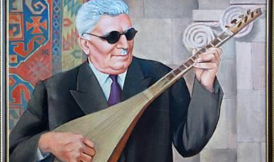 Вспоминая Народного артиста гусана Аваси (Арменак Маркосян, Джавахк)