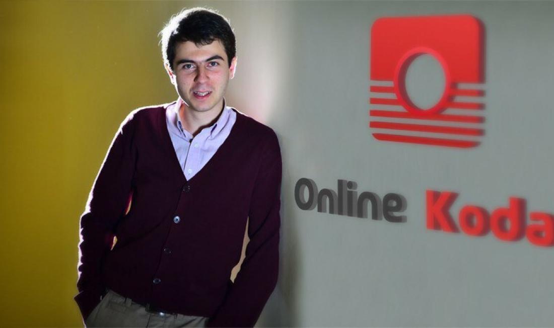 Студент Джаник Севоян создал собственный стартап OnlineKodak