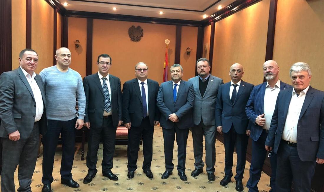 Зустріч Новопризначеного Посла Вірменії в Україні з делегацією Національного конгресу вірмен України
