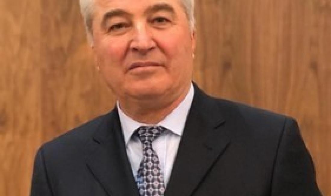 Ашот Аванесян вітає новопризначеного Посла України в Республіці Вірменія